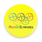 badge Or des Mega GeOlympiades